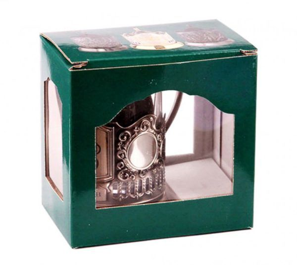 Коробка сувенирная для подстаканника (в ассортименте)