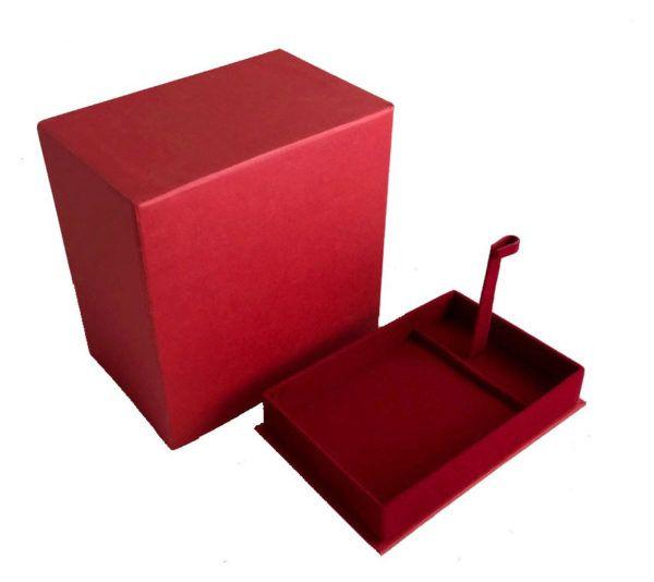 Подарочная коробка для подстаканника (красная)